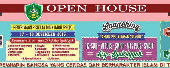 Open House Launching Ppdb